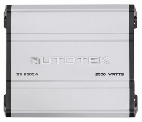 Channel Car Audio Amplifier Class A/B Amp-Autotek SS2500.4 Super Sport 2500w 4
