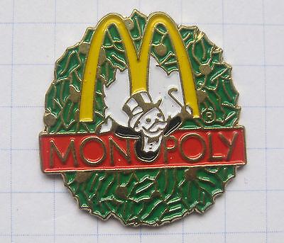 M / MONOPOLY .............................Mc DONALD`s -Pin (103j)