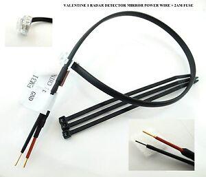 1 X12 30cm Mirror Power Wire For Valentine One V1 Radar