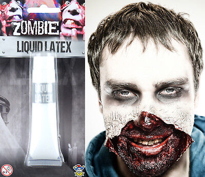en Special FX Zombie Scars Makeup Flesh Fake Skin Adhesive (Liquid Latex Halloween Zombie)