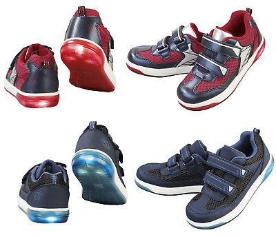 Kinder Sportschuhe Blinkschuhe mit Licht Blinkeffekt  Sneakers Jungen Freizeit