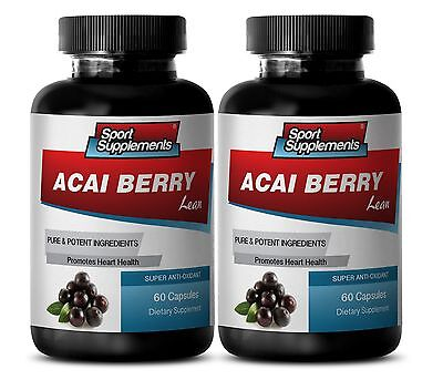 Immune Boost Pills - Acai Berry Lean 550mg - Pure Acai Berry Cleanse 2B