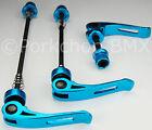 MTB Blue Bicycle Skewers