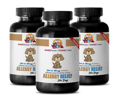 dog itching skin relief - PREMIUM DOG ALLERGY RELIEF 3B- dog supplements allergy