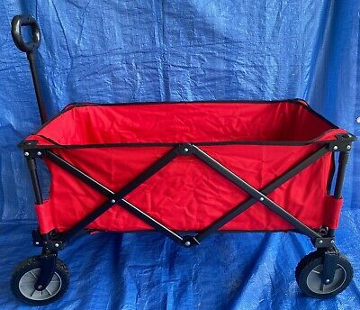 Ozark Trail Folding Collapsible Wagon Cart Buggy Beach Hunting Vendors Camping