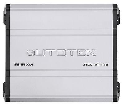 Autotek Ss2500 4 Super Sport 2500W 4 Channel Car Audio Amplifier Class A B Amp