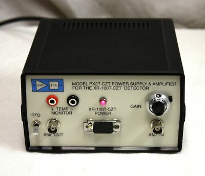 Amptek Px2t-czt Power Supply Amp - Xr-100t Cdte Gamma X Ray Detector May Be New