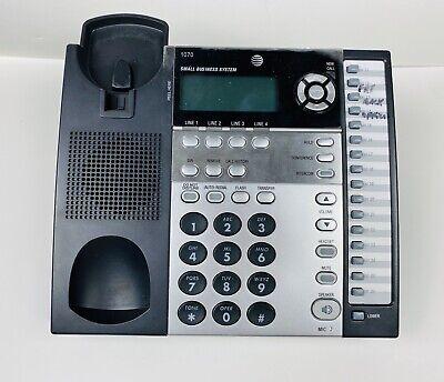 Att 1070 4 Line Corded Business Deskwall Phone W Caller Id