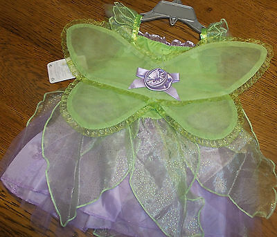 6-12 Months Disney Store Tinkerbell Fairy Costume w/ Wings B