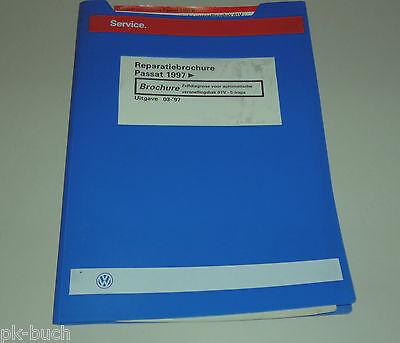 Reparatiebrochure VW Passat B 5 Zelfdiagnose voor automatische versnellingsbak