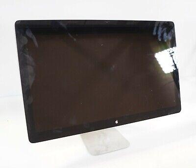"""Apple A1407 27"""" 2560 x 1440 Thunderbolt LED Cinema Display MC914LL/A Fair"""