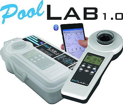 Photometer PoolLab 1.0 Wassertester Pooltester mit Bluetooth & Software 9 Werte