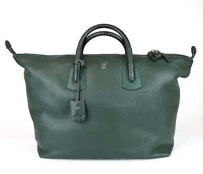 $2750 New Authentic Gucci Unisex Large Leather Carry-On Duffle Travel Bag 325791