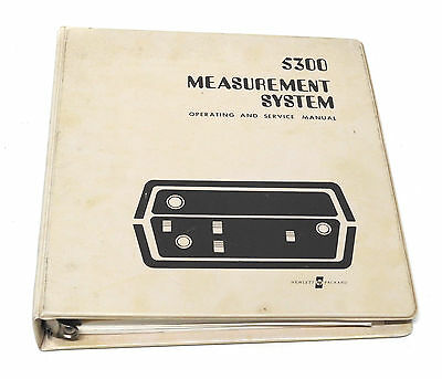 Manual Hewlett Packard HP5300B / HP 5300 B Measurement System, Op. & Service