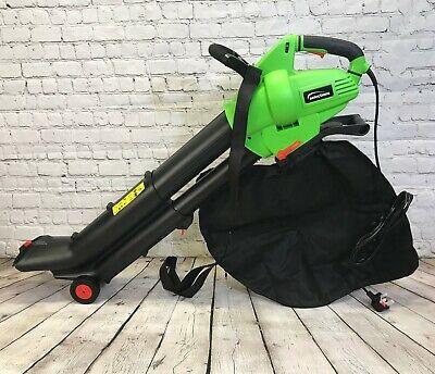 Leaf Blower Mulcher and Vacuum 3000 Watt Electric Garden Vac