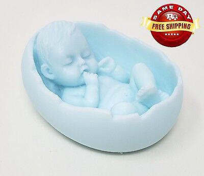 CUTEST BOY BABY SHOWER GIFT GLYCERIN SOAP BAR HANDMADE NATURAL MOISTURIZING