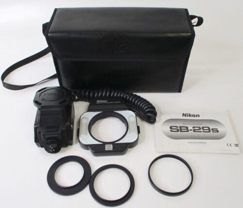 Nikon Macro Speedlight SB-29s Ring Light Flash