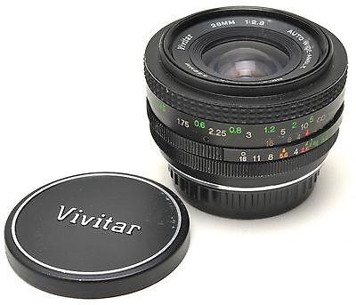 Vivitar 28mm F2 1:2.8 Auto Wide-Angle Lens for Pentax (Vivitar 28mm F2)