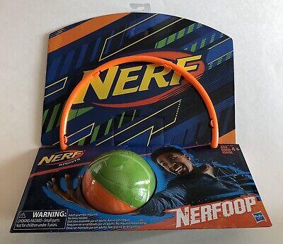 Nerf Sports Nerfoop Orange/Green Ball - Brand New