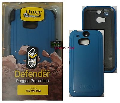 OtterBox Defender Series Case for HTC One M8, Blueprint,