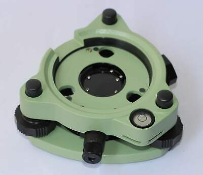 Green Three-jaw Tribrach With Optical Plummet For Leicatrimbletopconsokkia