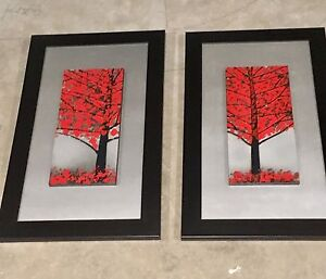 Matching Framed Red Trees
