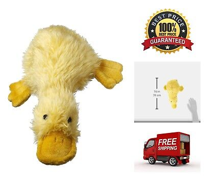 """Large 13"""" Duckworth Duck Dog Fetch Game Puppy Pet Toy Squeaker and Plush Filled"""