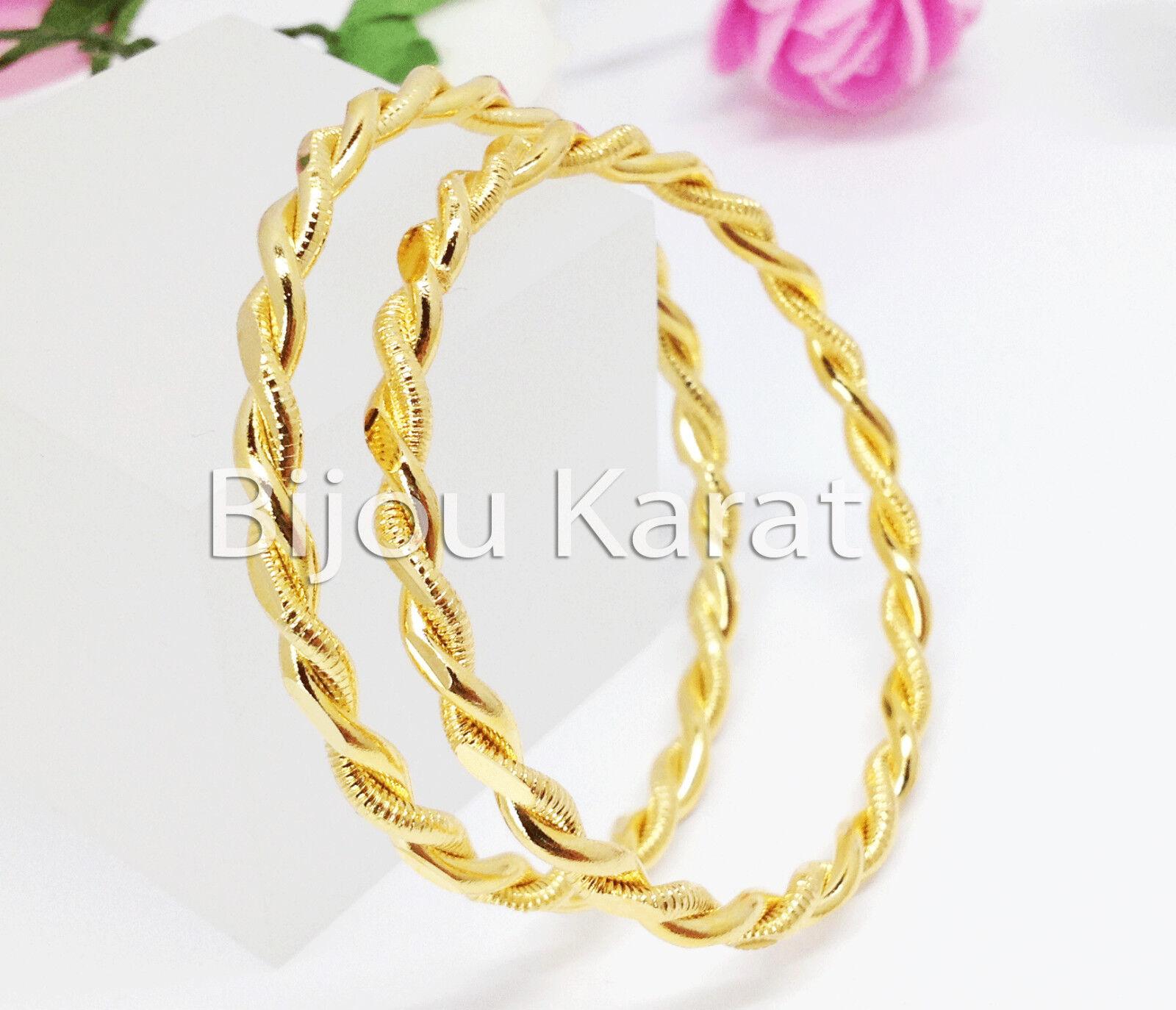 Kinder Baby Gold Armreif 18 Karat vergoldet Cocuk Bilezik Altin Kaplama Armband