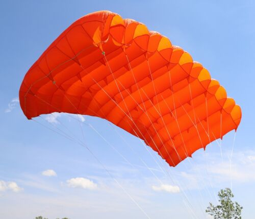 Maverick 200 skydiving parachute reserve canopy - 7 cell - F111 - mint shape