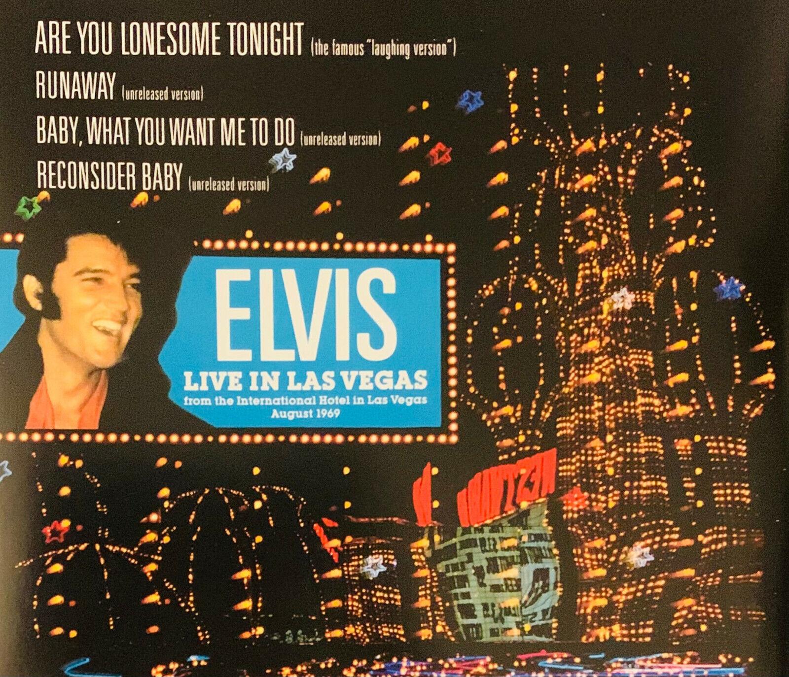 Elvis Presley – Live In Las Vegas    CD