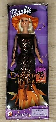 BARBIE by Mattel - Blonde 2000 Special edition Enchanted Halloween New in box