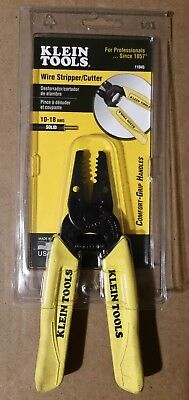 Klein Tools 11045 Wire Strippercutter 10 - 18 Awg Solid