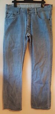 Duck And Cover Pure Denim Mens Jeans Blue W32 L32 ()