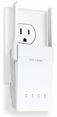 TP LINK AC750 RE210 Dual Band Wi-Fi Range Extender w/ Gigabit Ethernet Port