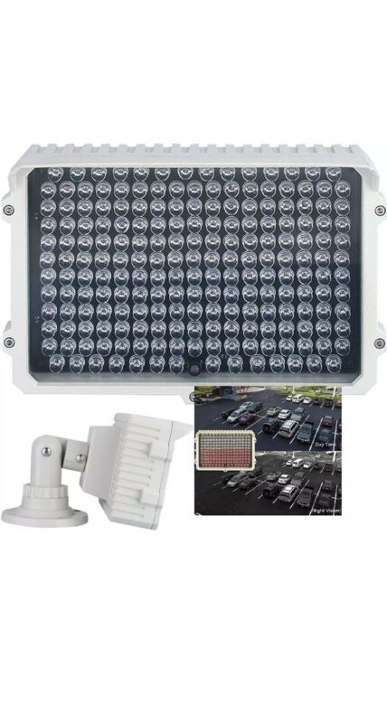IR130-198 LED Indoor/Outdoor Long Range 300-400ft IR Illuminator Power Special