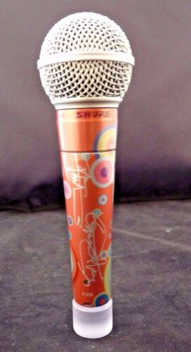 Shure The Who Daltry Townshend #4 Of 10 Signed Limited Edition Sm58 Microphone