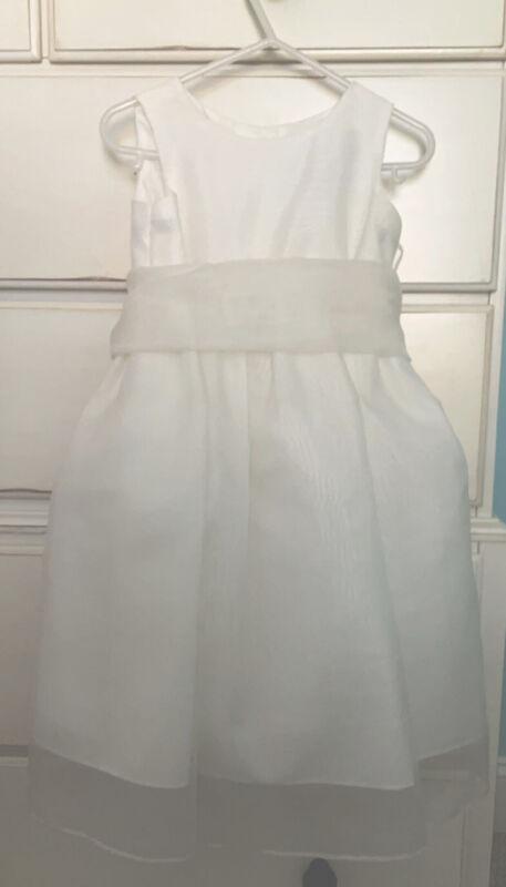 Alfred Angelo Flower Girl Dress Size 2 EUC