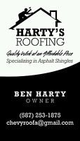 Harty's roofing
