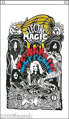 Led Zeppelin Electric Magic Banner 5