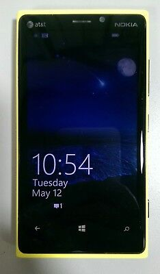 "AT&T Nokia Lumia 920 4G LTE Windows Smartphone 4.5"" Touch Screen 32GB *Free S/H."