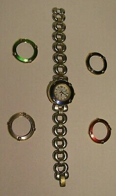 Anne Klein Women's Multi Color Bevel Changing Fashion Watch