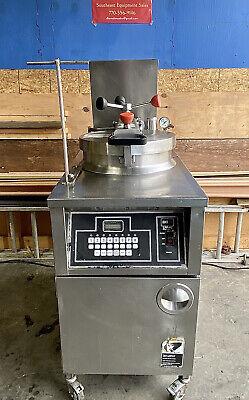 Bki Lpf-fc 48lb. Electric Pressure Fryer -8 Program Modes Auto Filter System