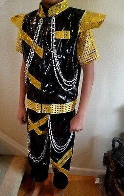Boys youth Dance Hip Hop costume Size 8/9 years old 3 Pieces](9 Year Old Costumes)
