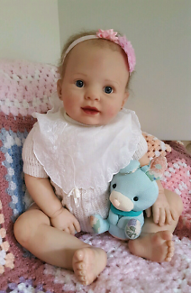 Reborn Baby Doll- 9 month old toddler approx 26 inches