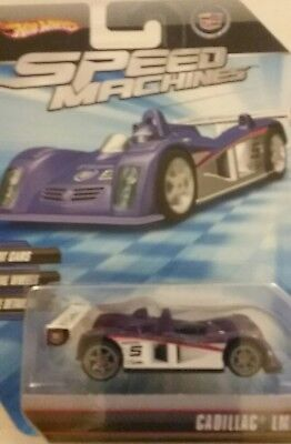 Hot Wheels Speed Machines Cadillac LMP PURPLE 2009