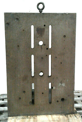 24 X 36 X 24 Angle Plate 6 Vertical Slots Lifting Eyebolt