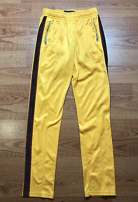 RARE Misbhv Sweatpants Joggers Size SMALL S Yellow Extacy SEE PICTURES