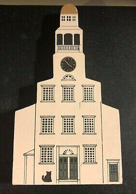 NANTUCKET Unitarian Church Cat's Meow Collectible 1987 Jaline '90 Massachusetts