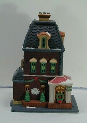 """VINTAGE MINT 1992 CHRISTMAS IN THE CITY """"HABERDASHERY"""" 55311 RETIRED"""