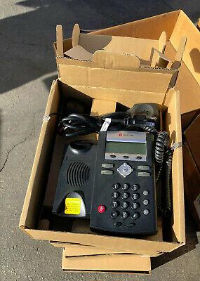 Lot Of 5 Polycom Ip331 2200-12365-025 Soundpoint 2-line Ip Phone Newopen Box